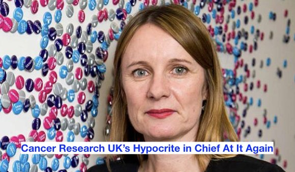 @CR_UK have long maintained a highly hypocritical stance when giving recognition where it is due & CEO @Michelle_CRUK appears keen to continue the tradition http://ow.ly/8z7c50uBiWg  #CancerResearchUK #RaceForLife #MichelleMitchell #JimCowan #Integrity #Hypocrisy #Ethics