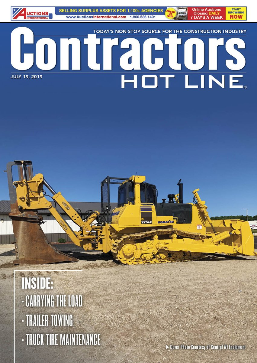 Check it out! The July 19th Issue of Contractors Hot Line is now available! http://viewer.zmags.com/publication/816df46e … #contractors #construction #equipment