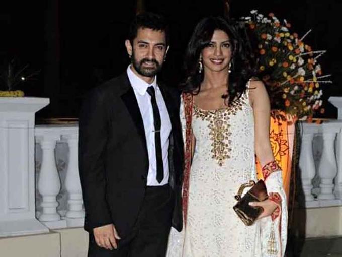 A bit late, but wishing Priyanka Chopra a very Happy Birthday from all Aamir Khan fans!