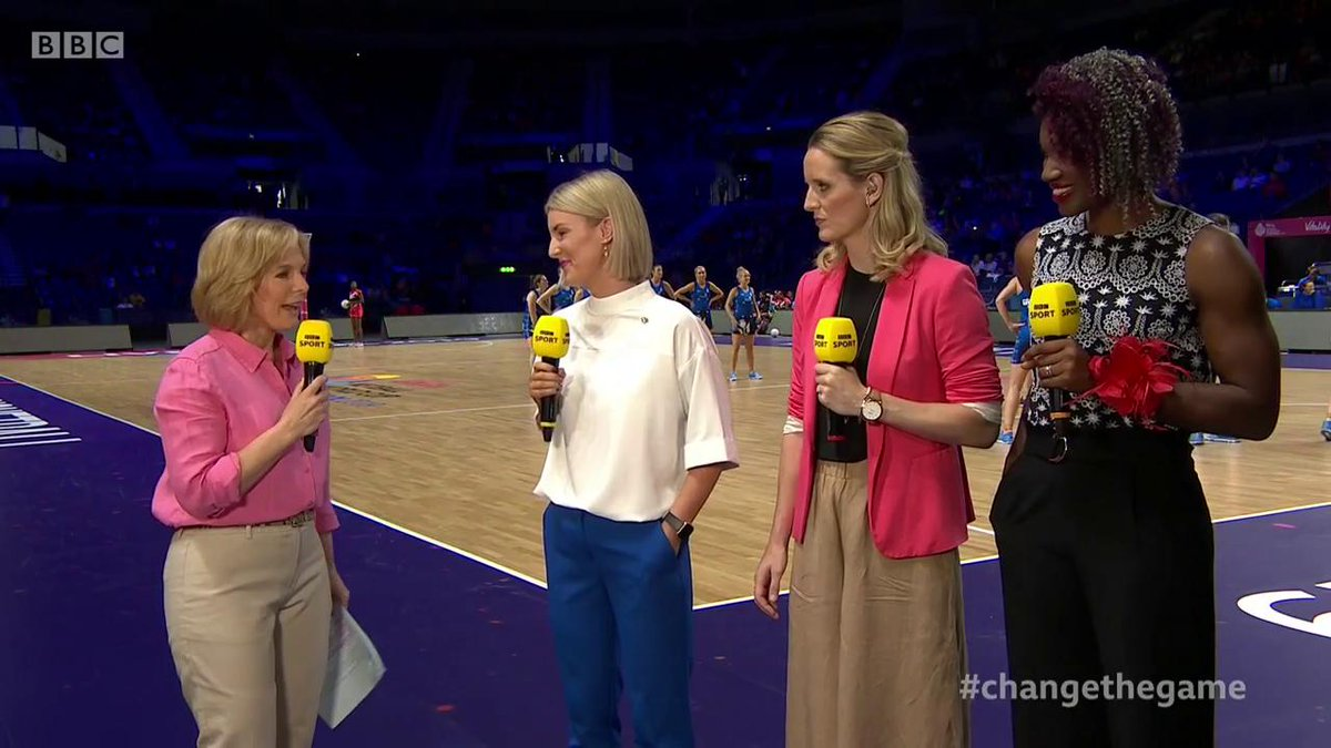 """""""It showed the promise and potential that lies in Scotland""""The Scottish Thistles have proven that they mean business says Claire Nelson.Follow live @BBCTwo & @BBCSport ➡http://bbc.in/32BCejc #bbcnetball #ChangeTheGame"""
