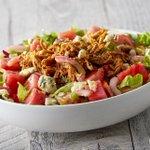 Image for the Tweet beginning: 𝗡𝗘𝗪 feature: BBQ Chicken Watermelon
