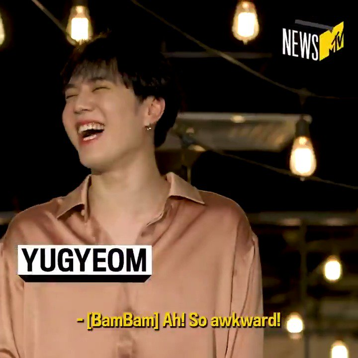 From @BamBam1A sliding into the DMs, to #Yugyeom's best dances moves, @GOT7Official had us cracking up. #iGOT7, check out this exclusive blooper reel, and watch our full interview with #GOT7 #갓세븐 at https://www.youtube.com/watch?v=GsSY0FKN3Bs …