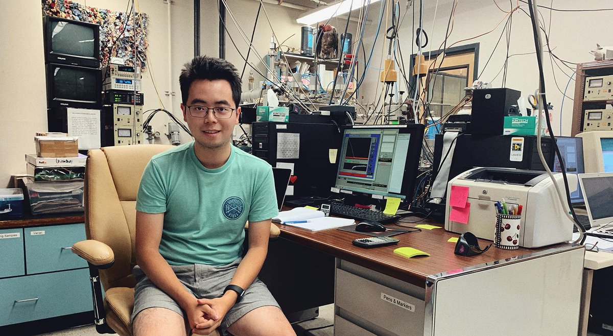 test Twitter Media - Donglai Yang '21 was one of 10 students chosen from around the world for the @NSF–sponsored #Antarctichron #Chronothon, where students conduct research to determine the approximate age of a section of Earth's southernmost continent: https://t.co/xJZs4NsySc https://t.co/nn6i1Af1KG