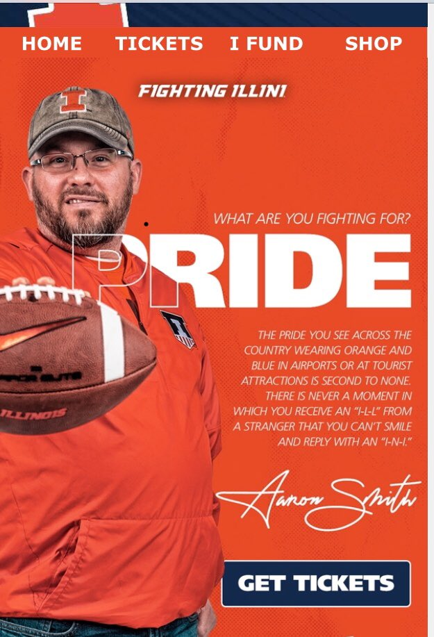 Got this in my email today...love the new #JoinTheFight effort...for us to be successful, it needs to be personal & it's going to take all of us! Let's roll up our sleeves and make it happen, #ILLINI! We need the full power of the #ILLINI Family behind us! #WhatAreYouFightingFor<br>http://pic.twitter.com/vZn8fn5YAN