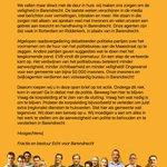 @EVBdrecht - EVB blijft zich inzetten voor een volwaardig politiebureau in Barendrecht. Nu en in de toekomst. Met deze open brief roepen we de burgemeester op om zich in te zetten om het bureau aan de Maasstraat te behouden en de rol van de politie in Barendrecht te versterken.📝 https://t.co/9P1jXxrMbq