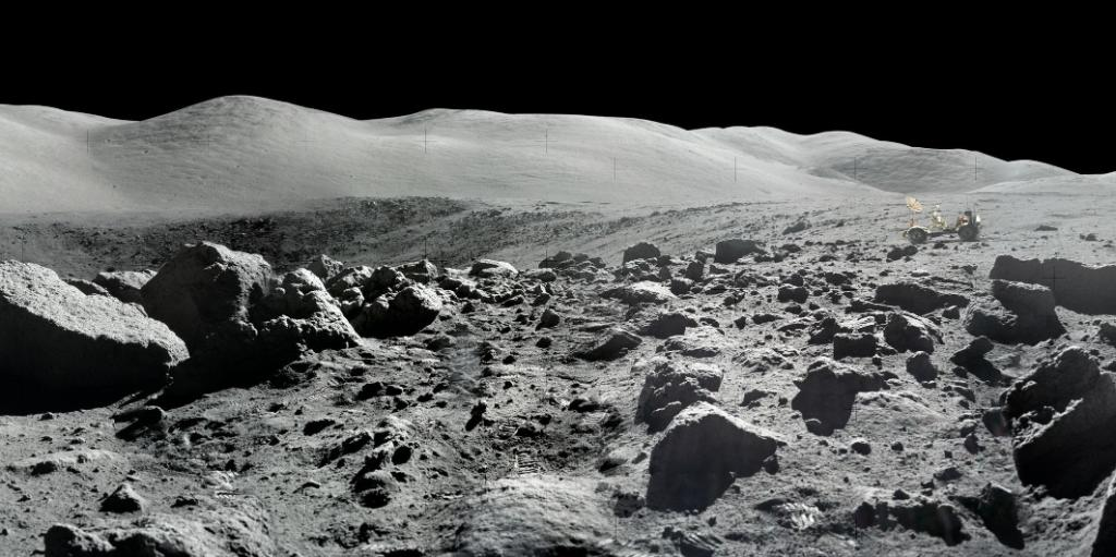 Experience the Moons magnificent desolation, as astronaut Buzz Aldrin called it, in stunning panoramas of the Apollo landing sites. As we celebrate the #Apollo50th anniversary, see what the 12 humans who walked on the lunar surface experienced visually: go.nasa.gov/2M7Xnft