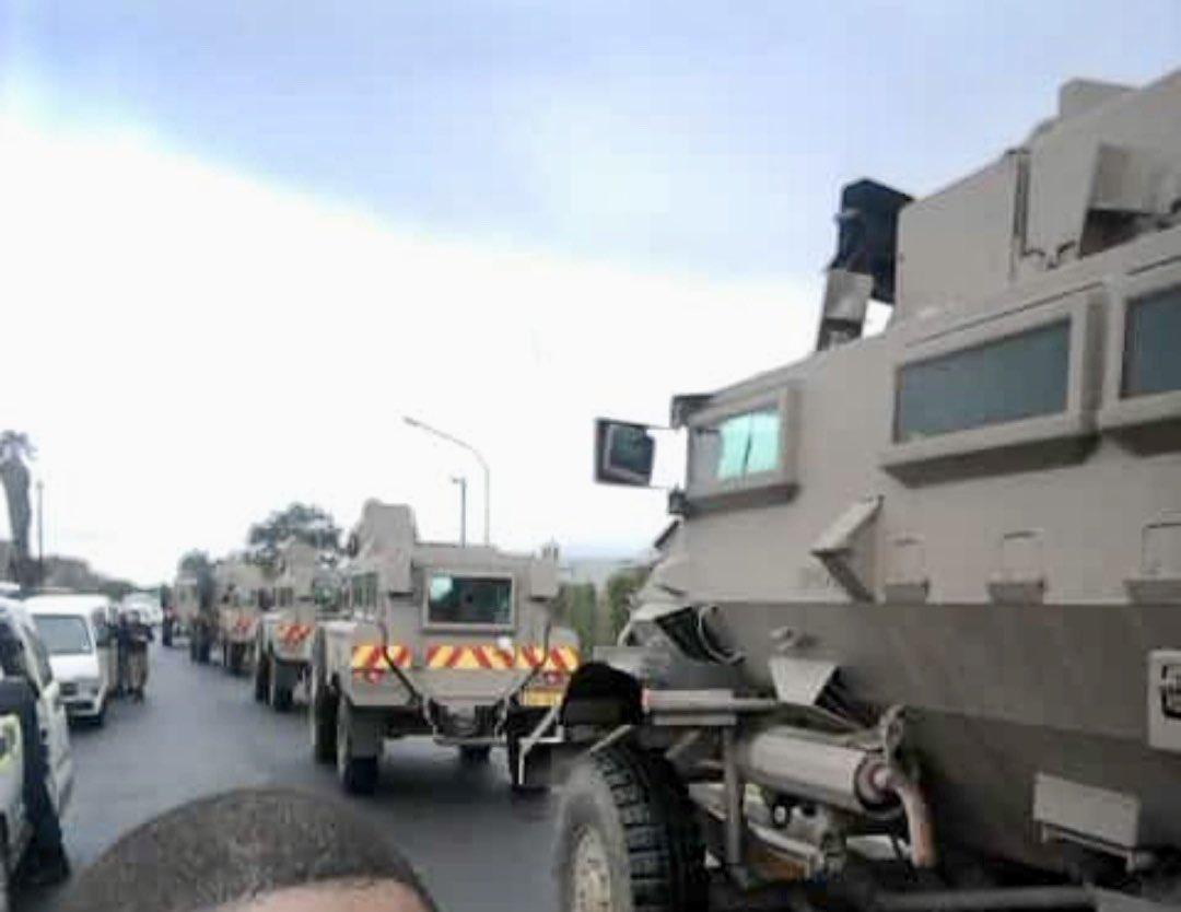 SANDF deployed on the Cape Flats.