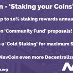 Image for the Tweet beginning: Do you own @NavCoin 's?
