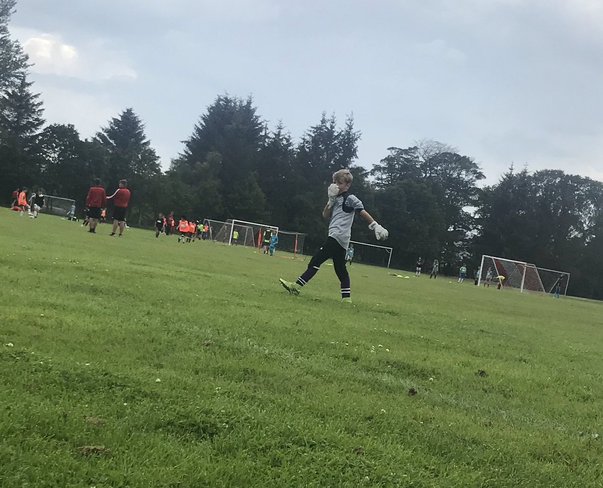 Mad Max loving his @AFCCT camp this week.  Not as good weather as Easter camp, but he isn't letting his Hay Fever stop him .  Love watching him in action  <br>http://pic.twitter.com/uch19GMnvF