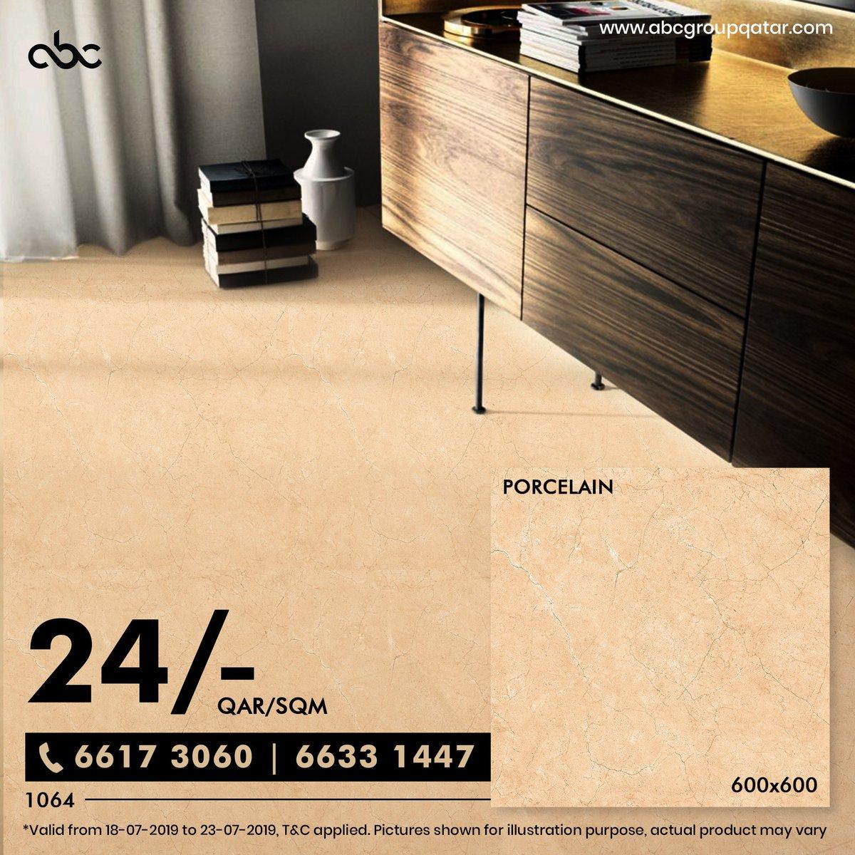 Best Price 600*600 Porcelain floor tile for just 24/-QAR