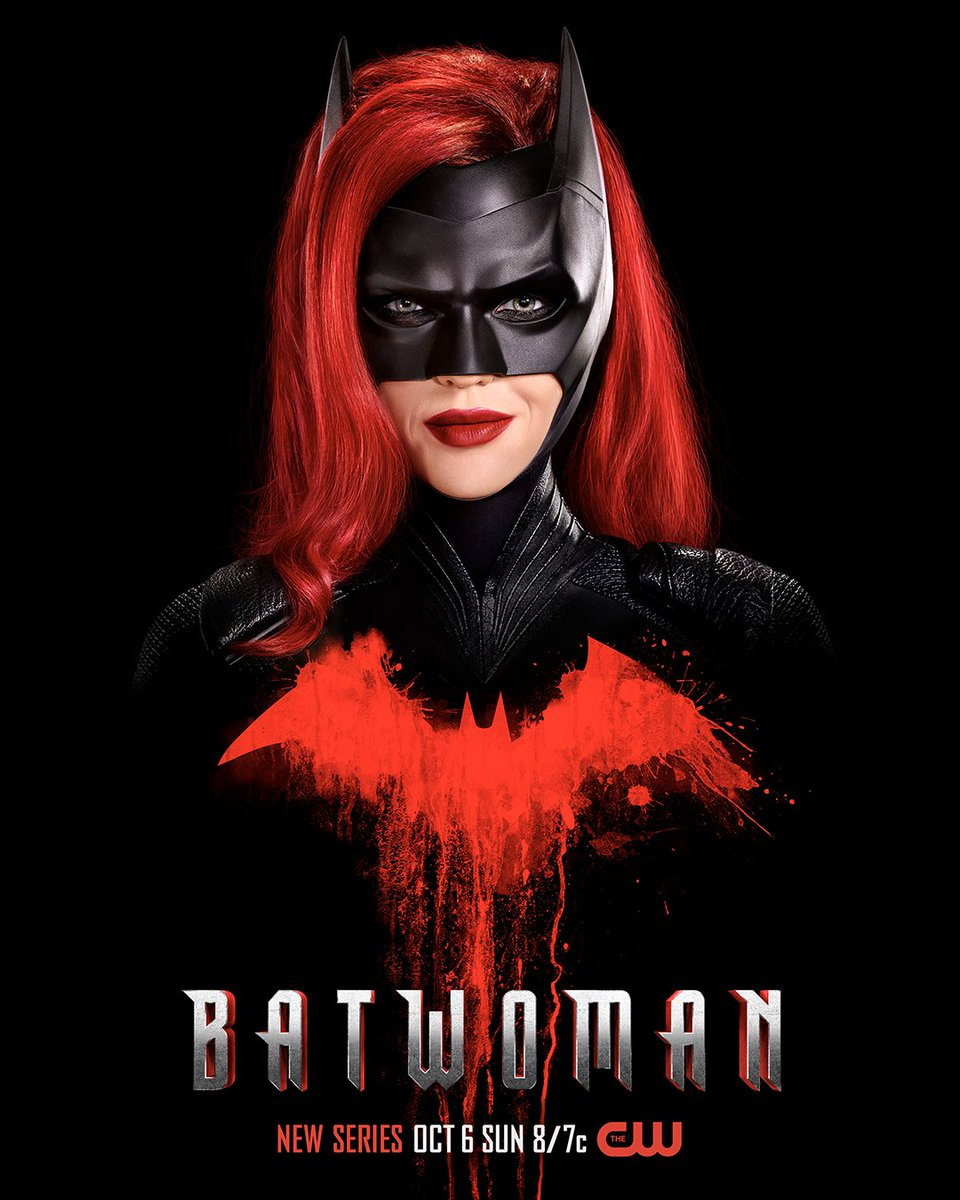 She's ready. Are you? #Batwoman premieres Sunday, October 6 on The CW!