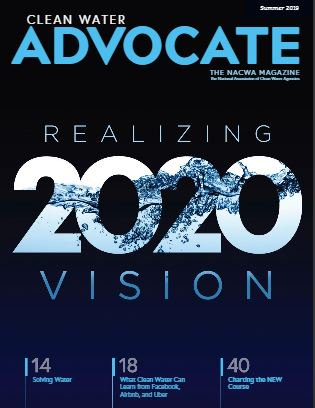 .@PatrickKDecker highlights the opportunity of a lifetime to solve water challenges in the latest issue of @NACWA's Clean Water Advocate. Read more: h...