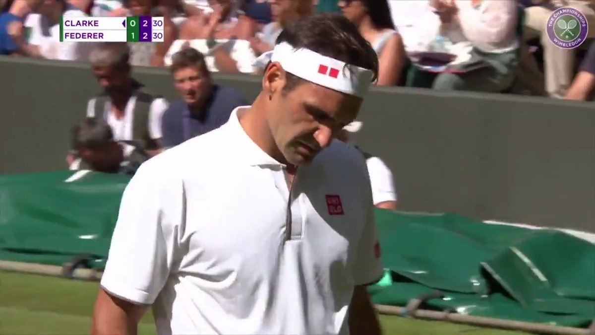 Ten points of pure wizardry from @rogerfederer at The Championships 2019.  You need to see them to believe them...  #Wimbledon
