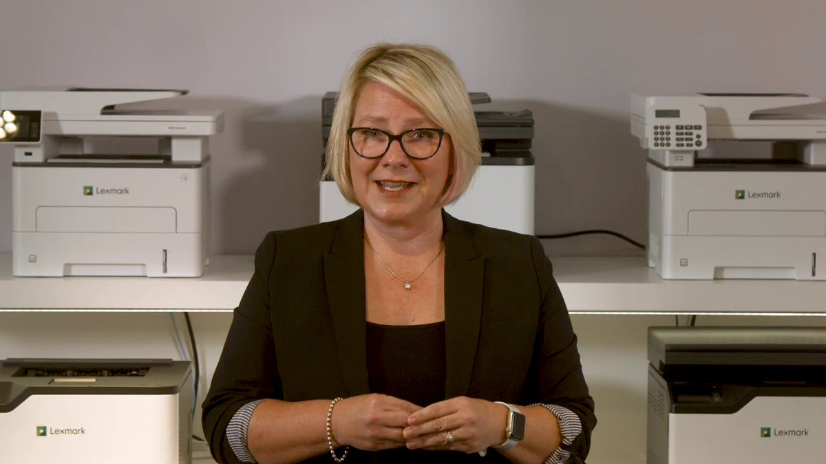 Lexmark announces the Lexmark GO Line™series of Printers and MFPs. Watch as Lexmark's Emily Rardin talks about these new compact and powerful color and monochrome devices for small workgroups: https://youtu.be/q55ilQx3Ytg