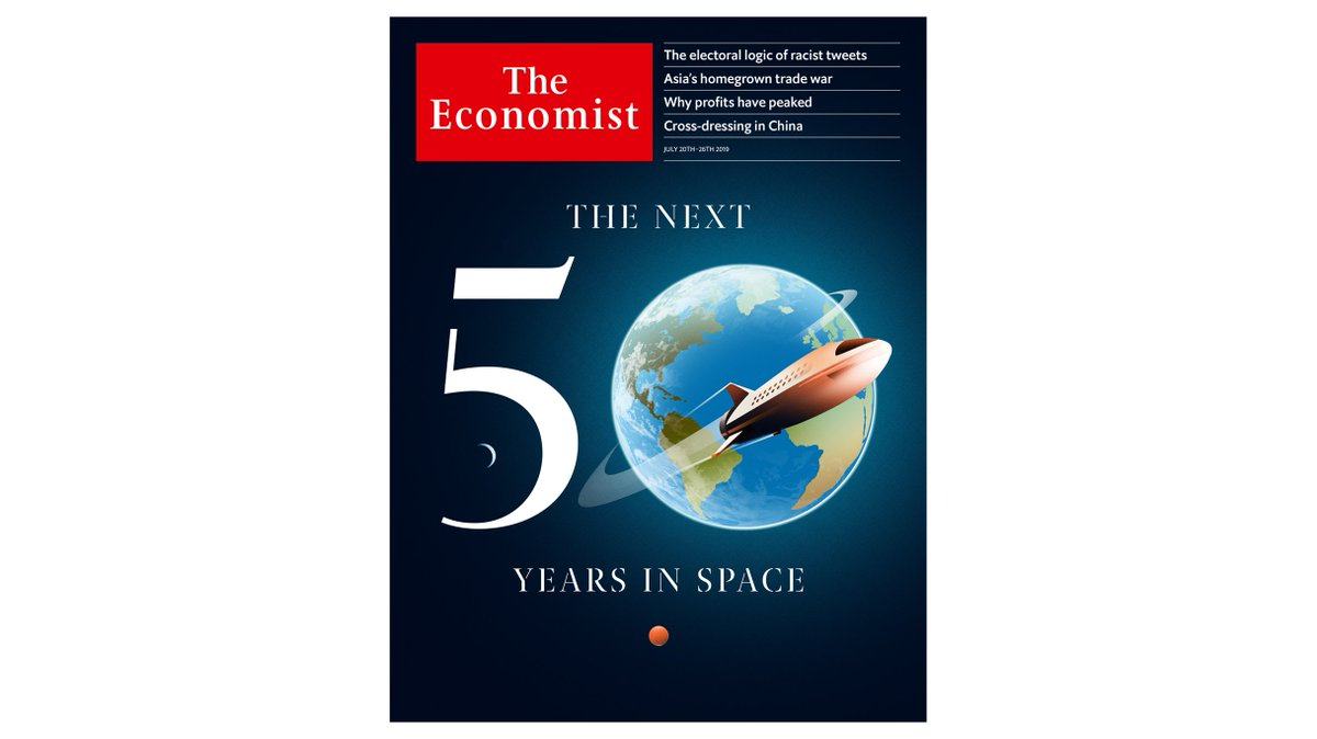 A new age of space exploration is beginning. To fulfil its promise, the world needs new laws to govern the heavens. Our cover this week https://econ.st/2Y1PDxT