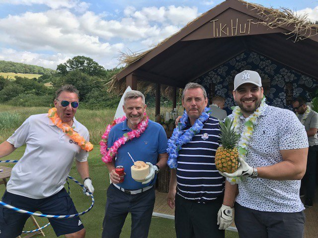 Great to see team GES taking a break from the course and enjoying the Tiki Bar, at @ESSAnews In the Rough 2019!  #TeamGES #INT19 #eventprofs <br>http://pic.twitter.com/aQfwXTfN8v