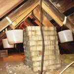 Eventually, all inspectors find containers set out to catch water in an attic. Is this a defect to be reported? https://t.co/NMTQlpeCXZ