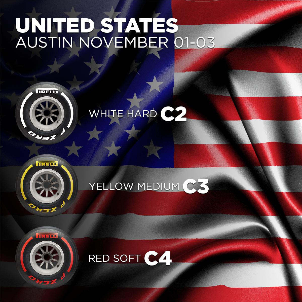 Here are our #Fit4F1 choices for the #USGP later this fall. 🇺🇸 http://bit.ly/2xSvgID