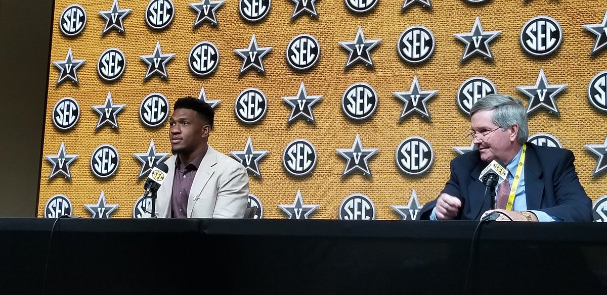 Vandy Sr. TE Jared Pickney was ask if he is the best TE in the SEC. He responded Comparison is the thief of all joy.
