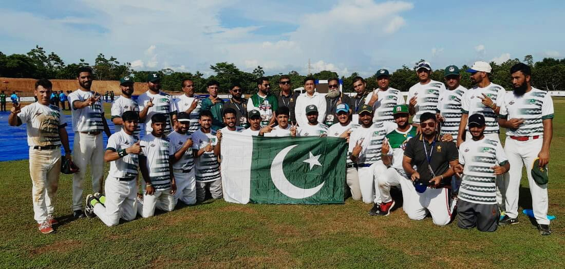 PROUD MOMENT:  Pakistan qualify for the finals of West Asia Baseball Cup beating India in the finals by 13-2 margin in semi final held at Colombo.  #PAKvIND #INDvPAK #Baseball #Pakistan #Karachi #Lahore #PakistanZindabad #India #Colombo #SriLanka #Winners