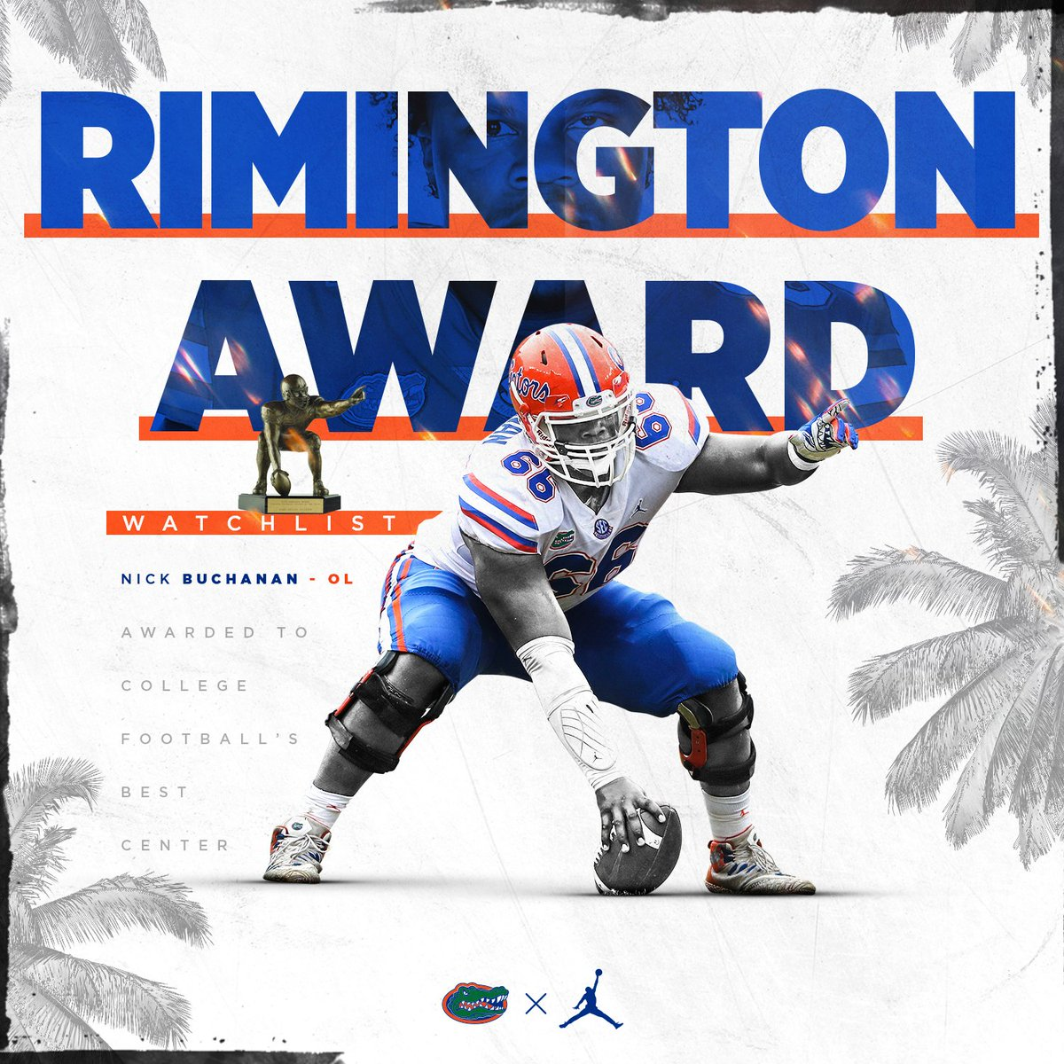 @GatorsFB's photo on Rimington Trophy