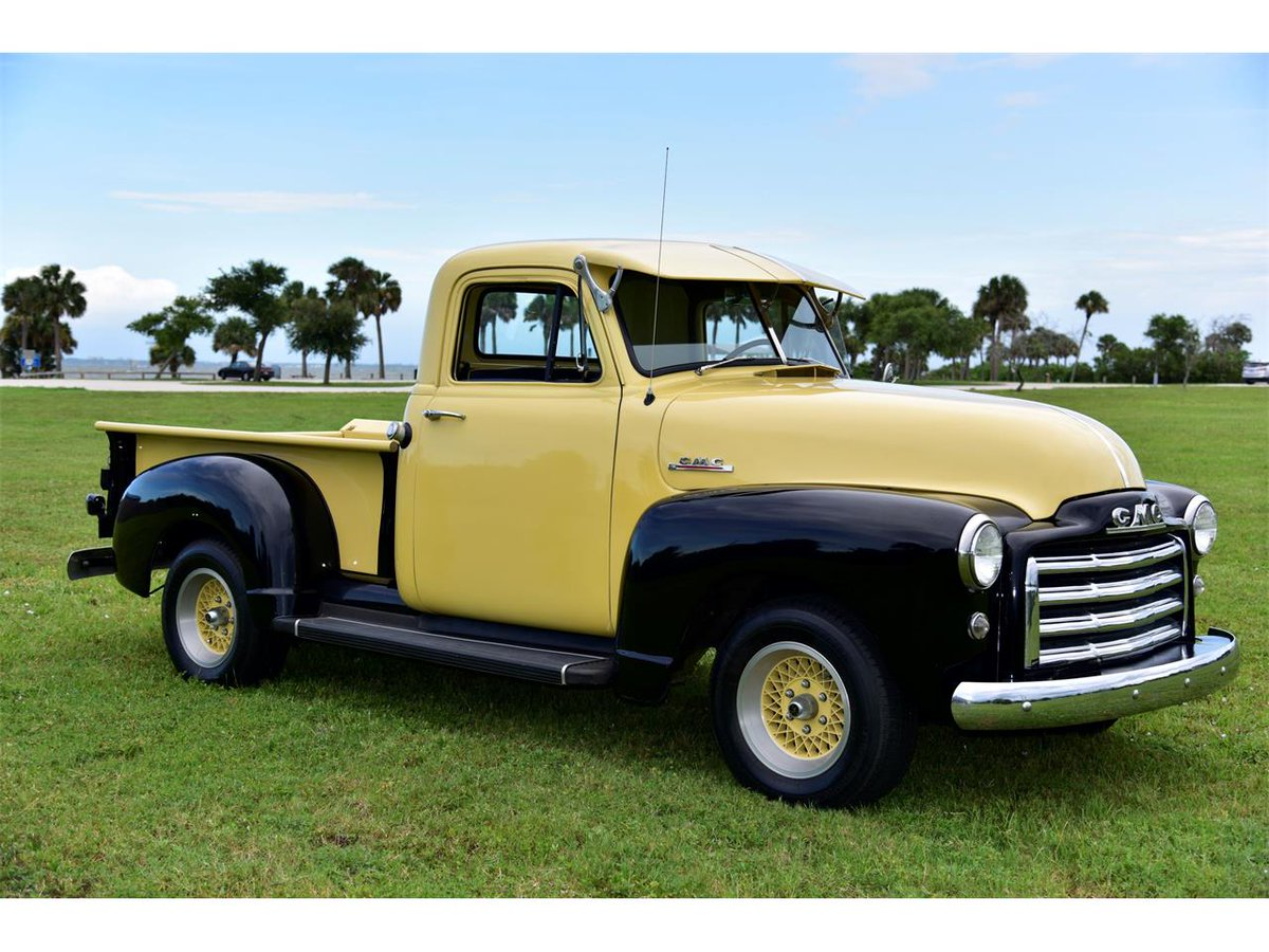 #ThrowbackThursday to the 1952 #GMC Pickup.