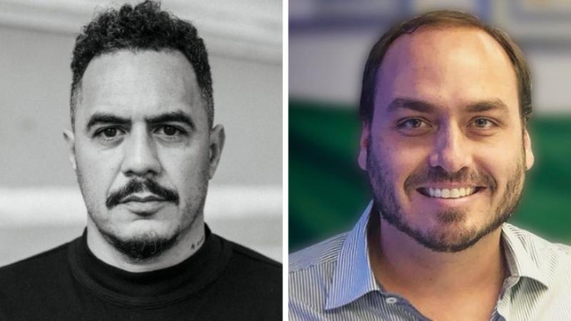 "Carlos Bolsonaro xinga Marcelo D2 de ""vagabundo"" após ser confrontado pelo rapper - https://portalrapmais.com/carlos-bolsonaro-xinga-marcelo-d2/…"