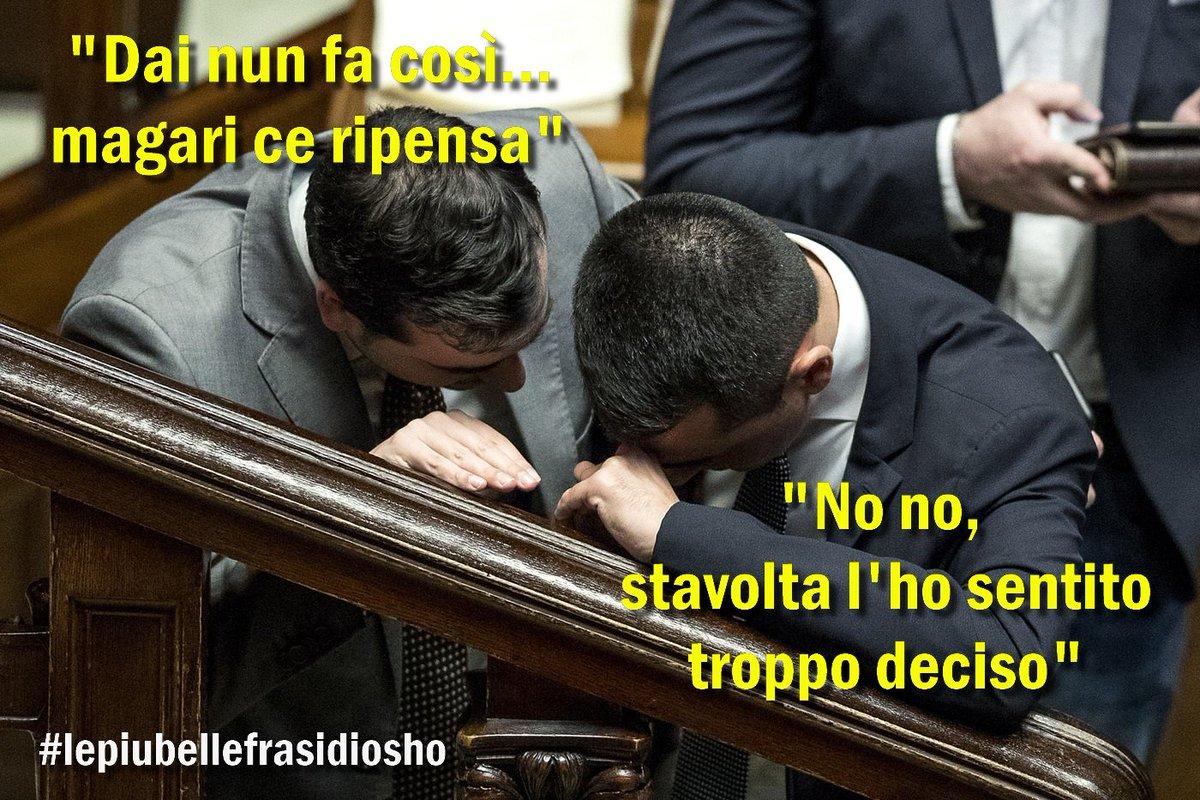 #Salvini apre la #crisidigoverno: 'Persa la fiducia personale in #DiMaio'