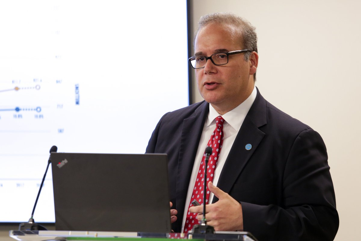 """""""Undernourishment increases sharply in countries affected by conflict,"""" says @MaximoTorero @UNFAO. #SOFI2019 updates estimates of food insecurity in countries experiencing political turmoil, including #Venezuela."""