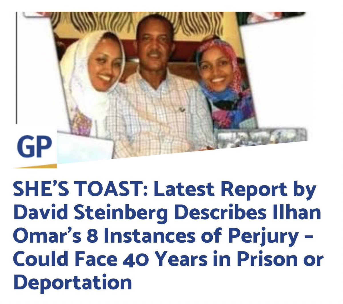 Authorities should seriously look into Omar's numerous frauds.  @TheJusticeDept