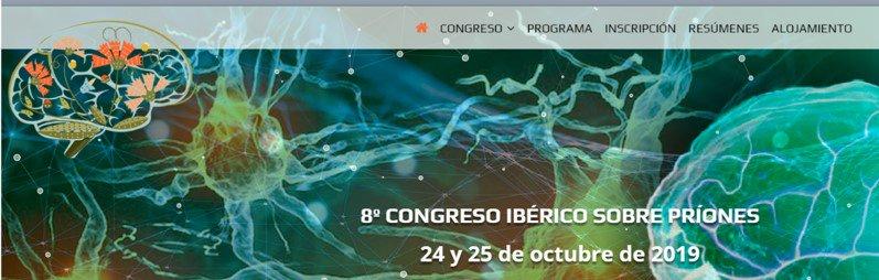 Ja està disponible la web del 8º Congres Ibèric sobre #Prions 🧠  Els dies 24 i 25 Octubre 2019 a Castelo Branco, Portugal  👉http://ow.ly/nk7m30p9MDf