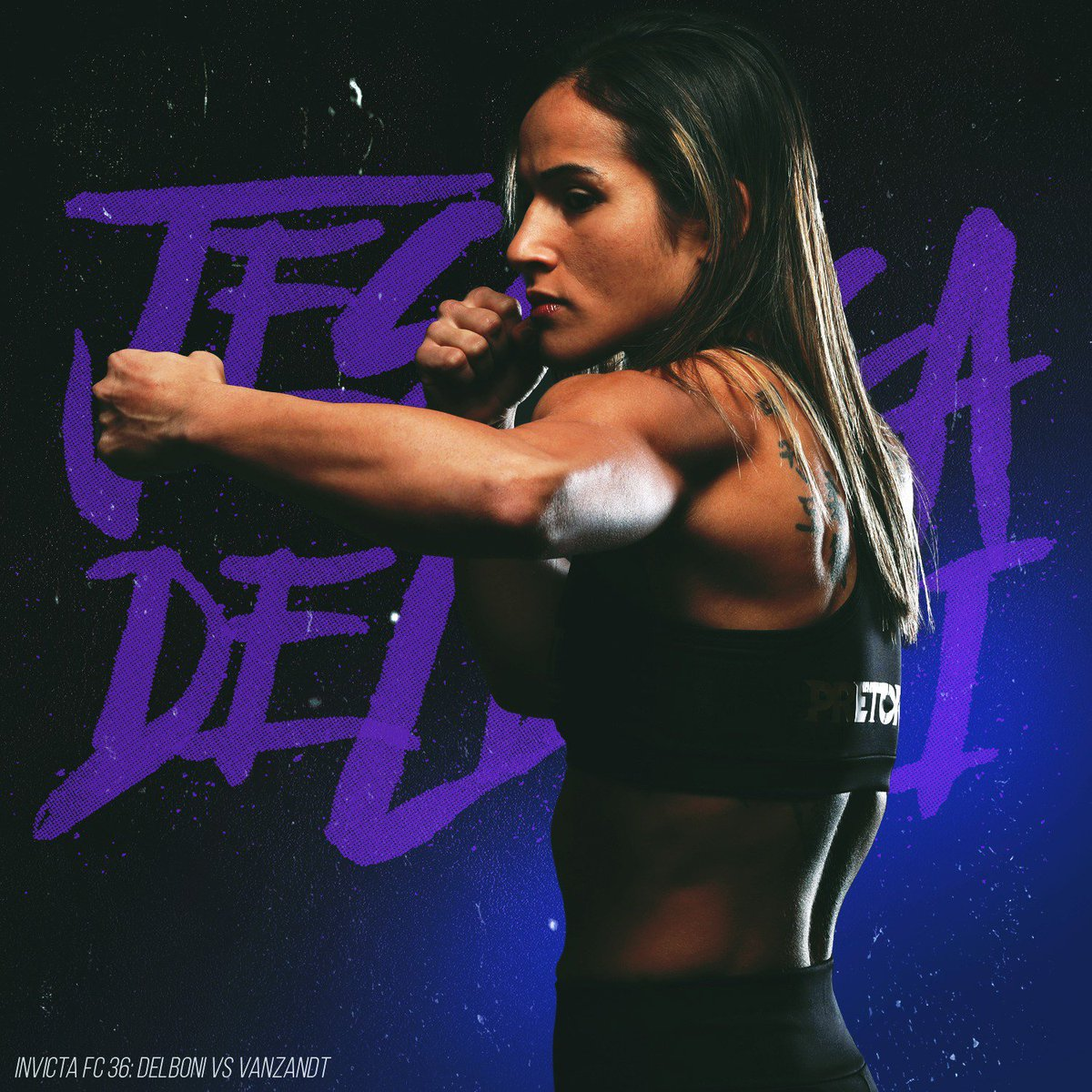 InvictaFights Brazilian atomweight Jéssica Delboni clashes with New York's Lindsey VanZandt this August 9th at #InvictaFC36!  #wmma