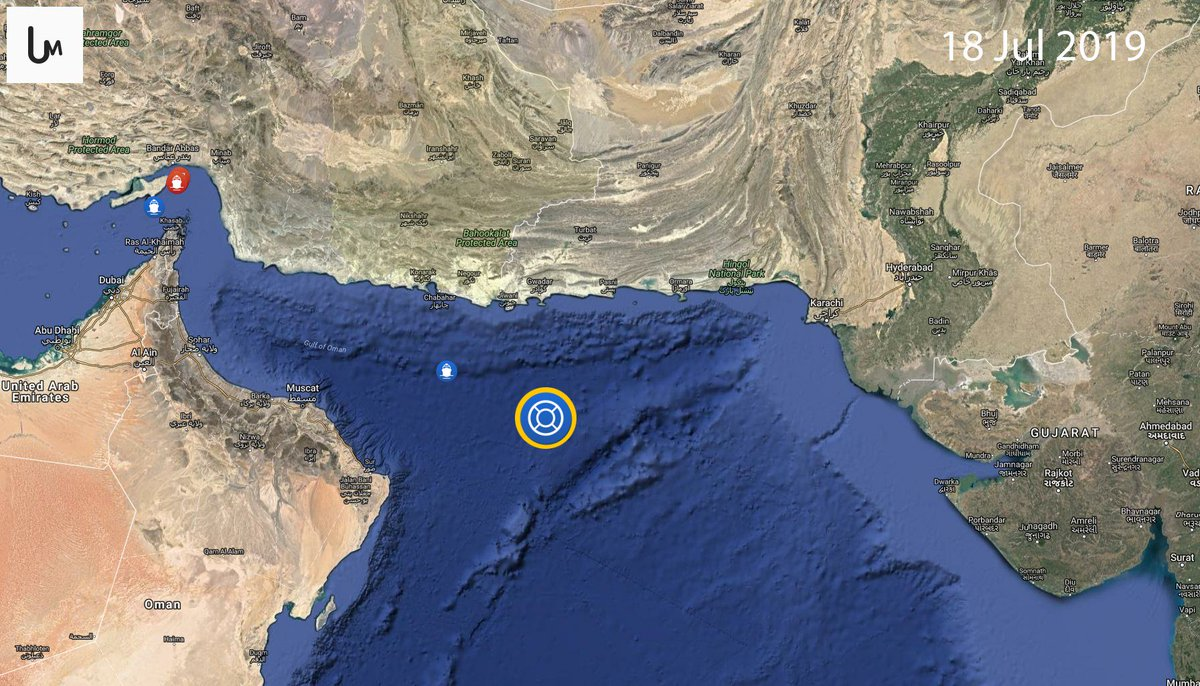 The US Navy says it is carrying out searches in the Arabian Sea for a missing American sailor  https:// iran.liveuamap.com/en/2019/18-jul y-the-us-navy-says-it-is-carrying-out-searches-in-the  …  via @SkyNewsArabia_B<br>http://pic.twitter.com/KHZmrngJdr