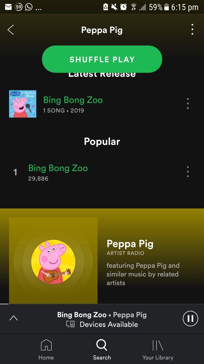 Nope On Twitter That New Peppa Pig Album Got The Streets Talkin