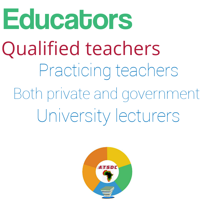1/7 Collaboration means doing it together. Who said education work is for teacher alone? #education improvement is duty of every citizen. Let's see who is eligible for the #ATSDC2019. First. EDUCATORS