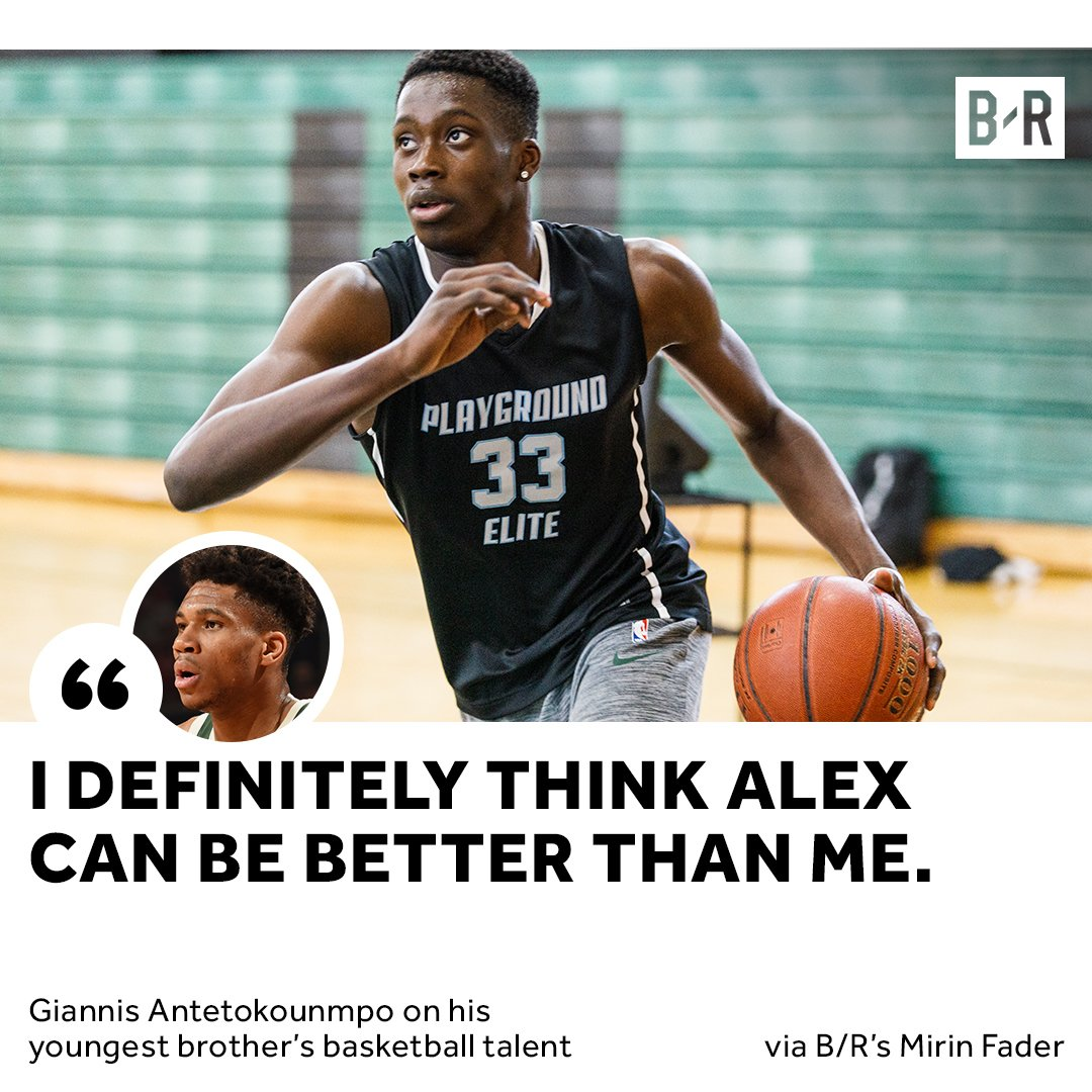 RT @BleacherReport: Giannis has big dreams for his little brother  https://t.co/BKIj0Qks8g https://t.co/se24bYBVgp