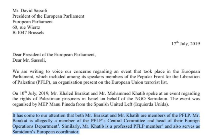 """Die @Welt reports 5 MEPs sent a letter to new @EP_President, @DavidSassoli. They called the incident """"extremely troubling,"""" hoped """"to ensure that such incidents do not happen again in the future."""" @FrederiqueRies,@FulvioMartuscie,@Weimers,@hjaRuissen,@CarmenAvram"""