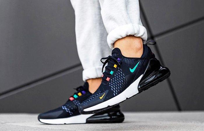 Nike Air Max 270 Black Multi  Releasing Tomorrow 8 AM at FootLockerUK!!  https://fastsole.co.uk/sneaker-release-dates/brands/air-max-270/nike-air-max-270-black-multi-ah8050-023/…  #Nike #AirMax ##New #Upcoming #Brand #Sneaker #Populer #Shoe #News #FastSole