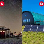 These homes look like they were #FoundAtArea51. Which one do you think is most out of this world? 👽