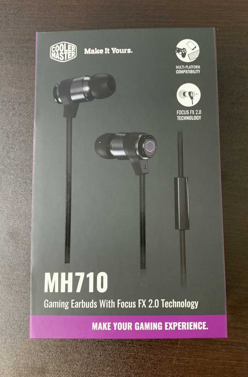 I don't like wearing headsets, so let's see how nice and easy and comfortable these earplugs from @CoolerMaster are!!<br>http://pic.twitter.com/b93YyOzUpk