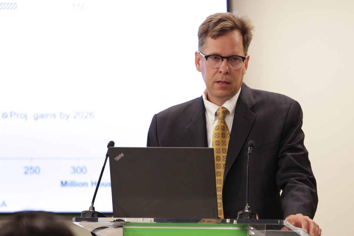 The potential for #biotechnology to contribute to improving the state of food insecurity is there. The question is if it will be used, says @USDA Chief Economist Robert Johansson. #SOFI2019 #ifpriLIVE #IFPRIPolicySeminar