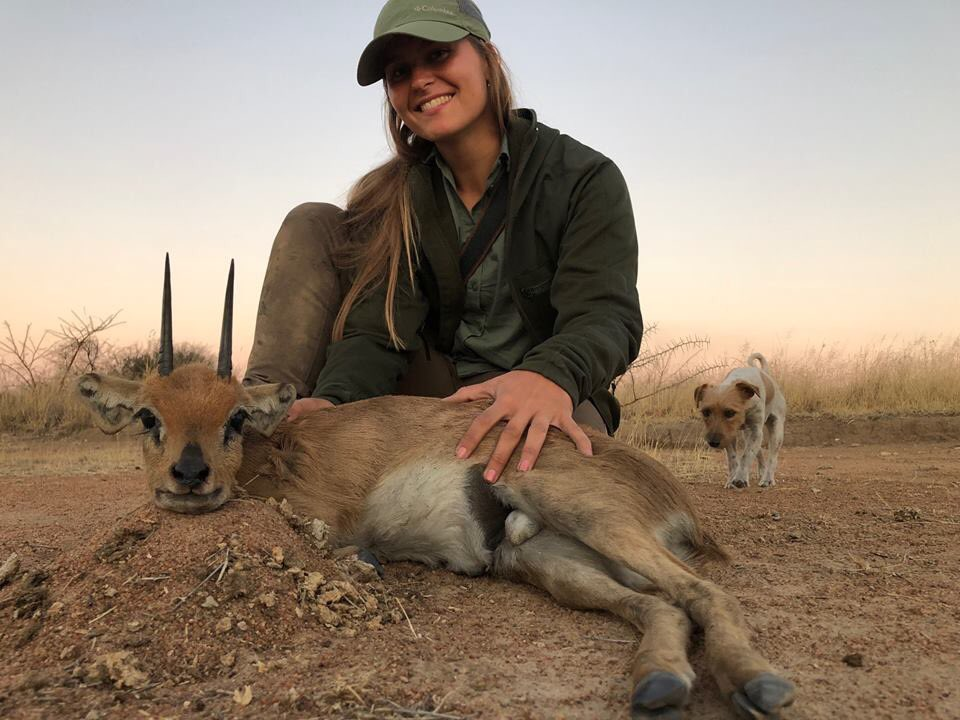 We don't have a name for this POS but we know she's amoral, heartless, and delights in killing. Like @rickygervais says we need a Hunger Games where these trash can pay to hunt each other. 🤬 @Protect_Wldlife @PeterEgan6  @_AnimalAdvocate @Animals1st @Animal_Watch @RobRobbEdwards