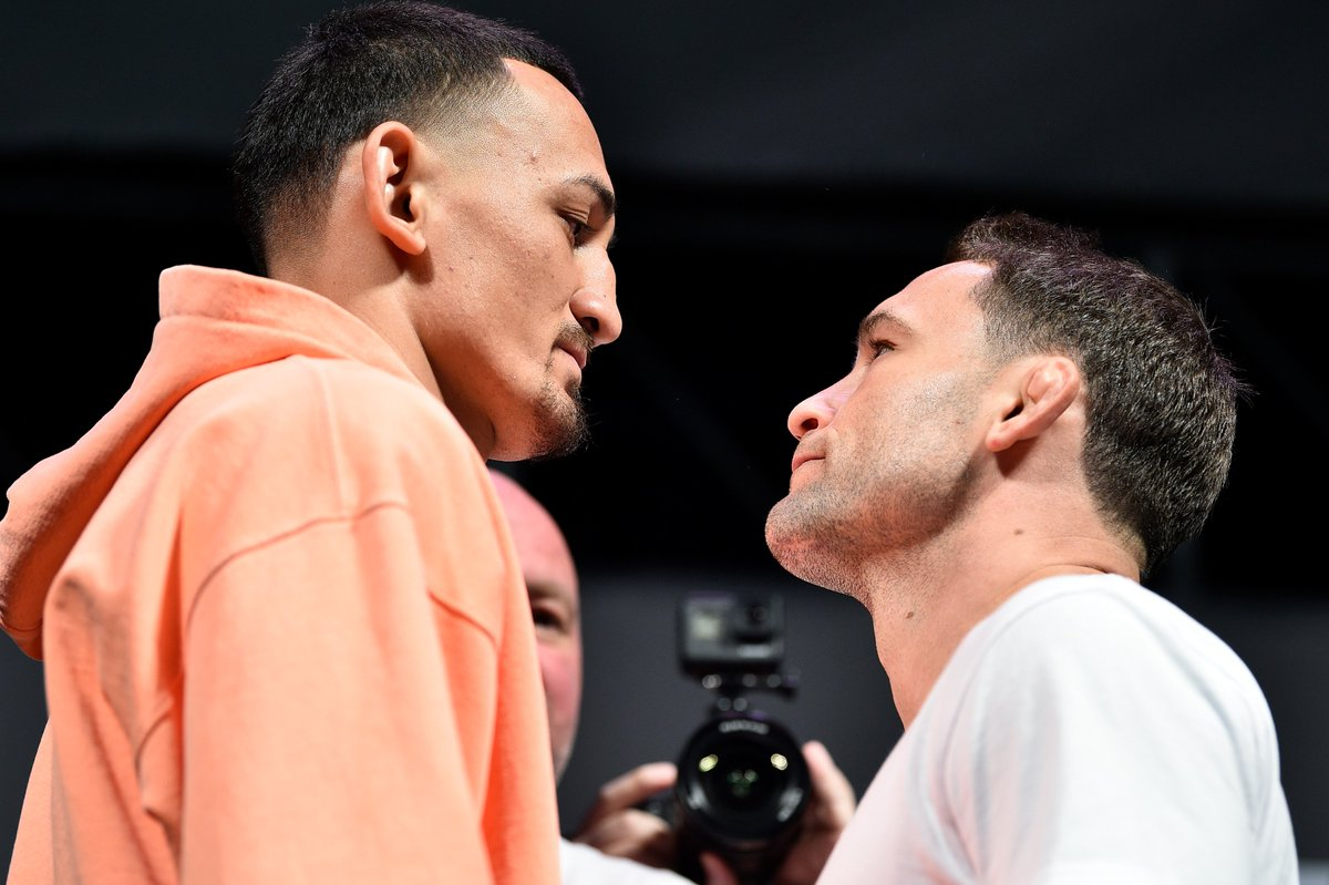 Whose side are you on next week? #UFC240