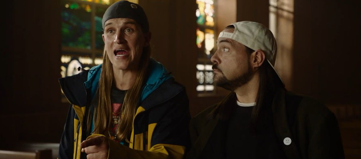 Kevin Smith has shared the first cameo-filled red band trailer for JAY AND SILENT BOB REBOOT: https://jumpcutonline.co.uk/kevin-smith-shares-first-red-band-trailer-for-jay-and-silent-bob-reboot/ …  The cast includes: Kevin Smith Jason Mewes Harley Quinn Smith Jason Lee, Ben Affleck Chris Hemsworth Craig Robinson Rosario Dawson Joe Manganiello