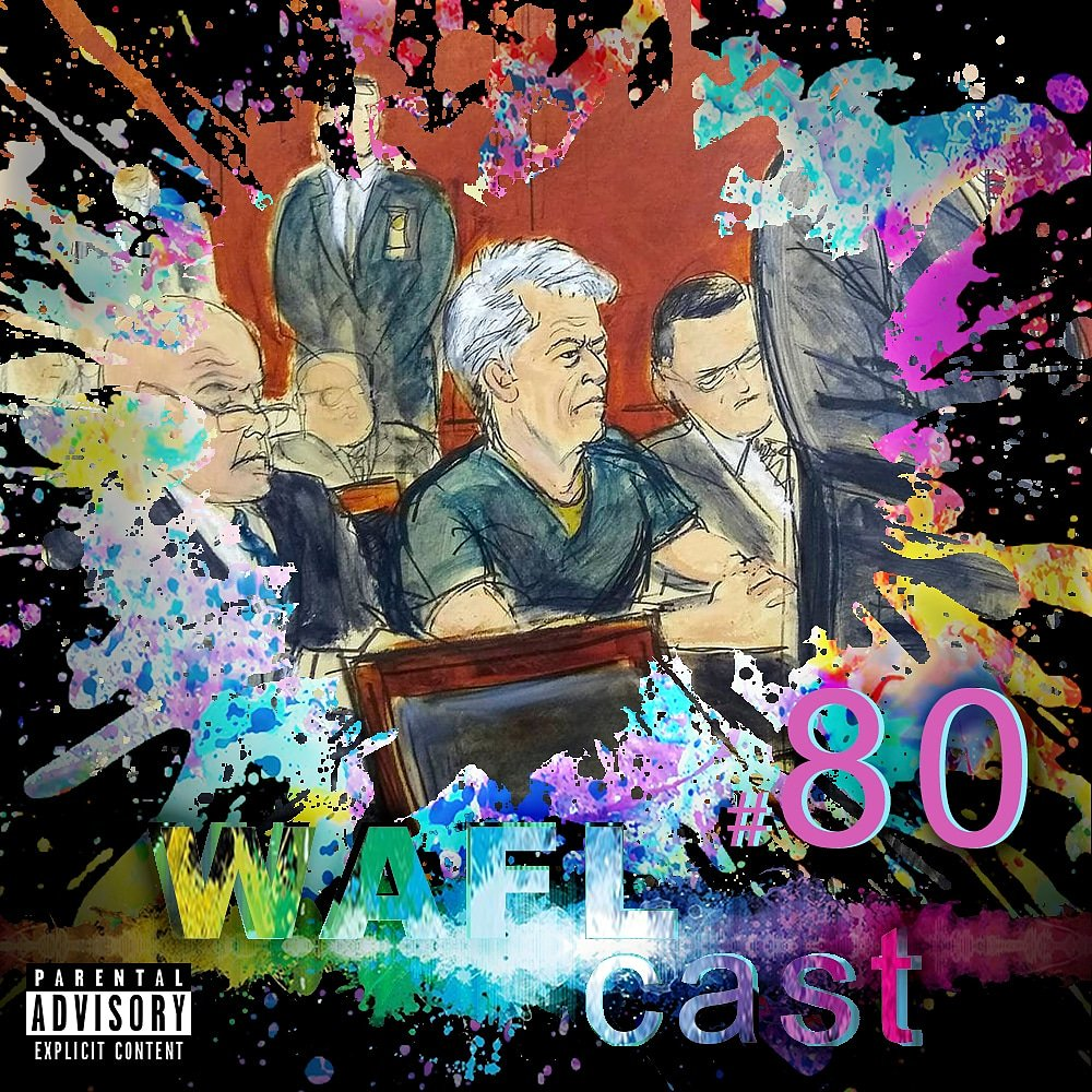Now on #iTunes #SoundCloud & #GooglePlay  WAFL takes on #podcasts #milfs #midlife #twitter #porn #gender #reveal #fails #wnba #sports #TrashTalk #vigilante #justice #JeffreyEpstien #stephenhawking #MakingTheBand #birdsofprey #thekingsman On all DSPs at http://waflproductions.com/waflcast