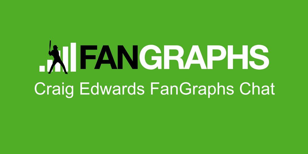 Craig Edwards FanGraphs Chat–7/18/2019 https://blogs.fangraphs.com/craig-edwards-fangraphs-chat-7-18-2019/… #Baseball #sports