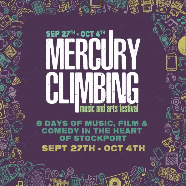 Retweet to win! We'll be revealing ticket details soon, but retweet for a chance to win two *very* limited edition vip tickets 🔥 #stockport #mercuryclimbing #win #Competition #music https://t.co/B7T0w3m179