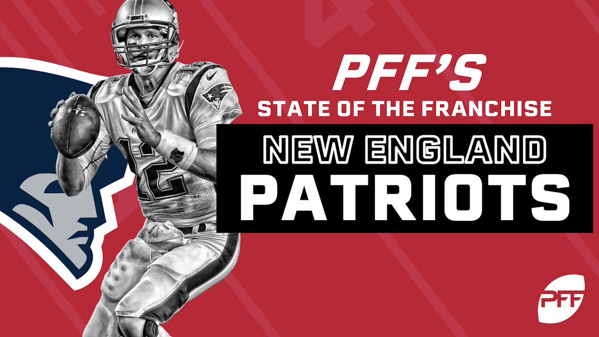 PFF's State of the Franchise: New England Patriots  @PFF_Steve and @PFF_AustinGayle discuss key additions as well as strengths and weaknesses as we head into the 2019 NFL season.  📹: https://www.youtube.com/watch?v=c0CPXMl7Mcs …
