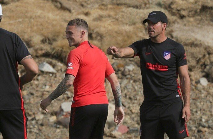 """Diego Simeone: """"What the f*ck is he doing here? I thought the £20m bid was a joke??"""""""