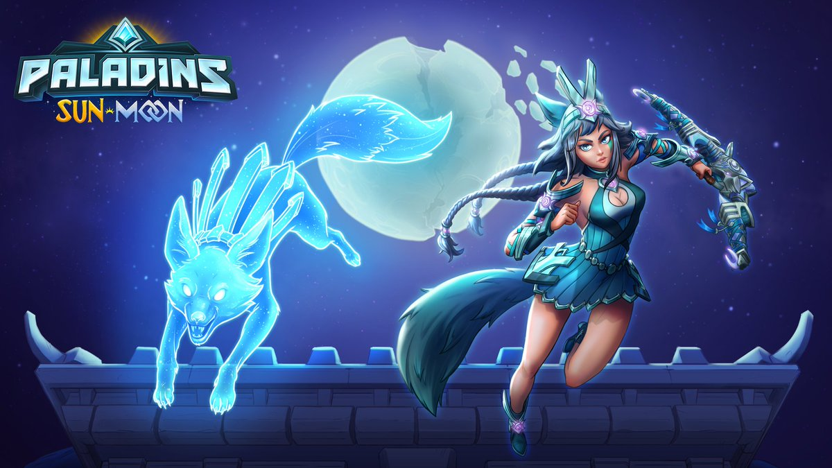 Some Champions were made to shine. Play as Io, the Shattered Goddess, in Paladins' Sun and Moon Update.  🌙: https://xbx.lv/2OiNDBN